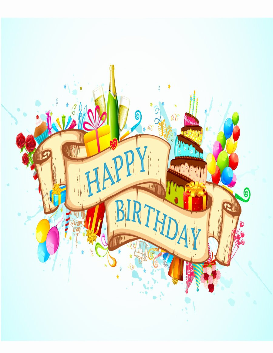 Birthday Card Template Free Best Of 40 Free Birthday Card Templates Template Lab