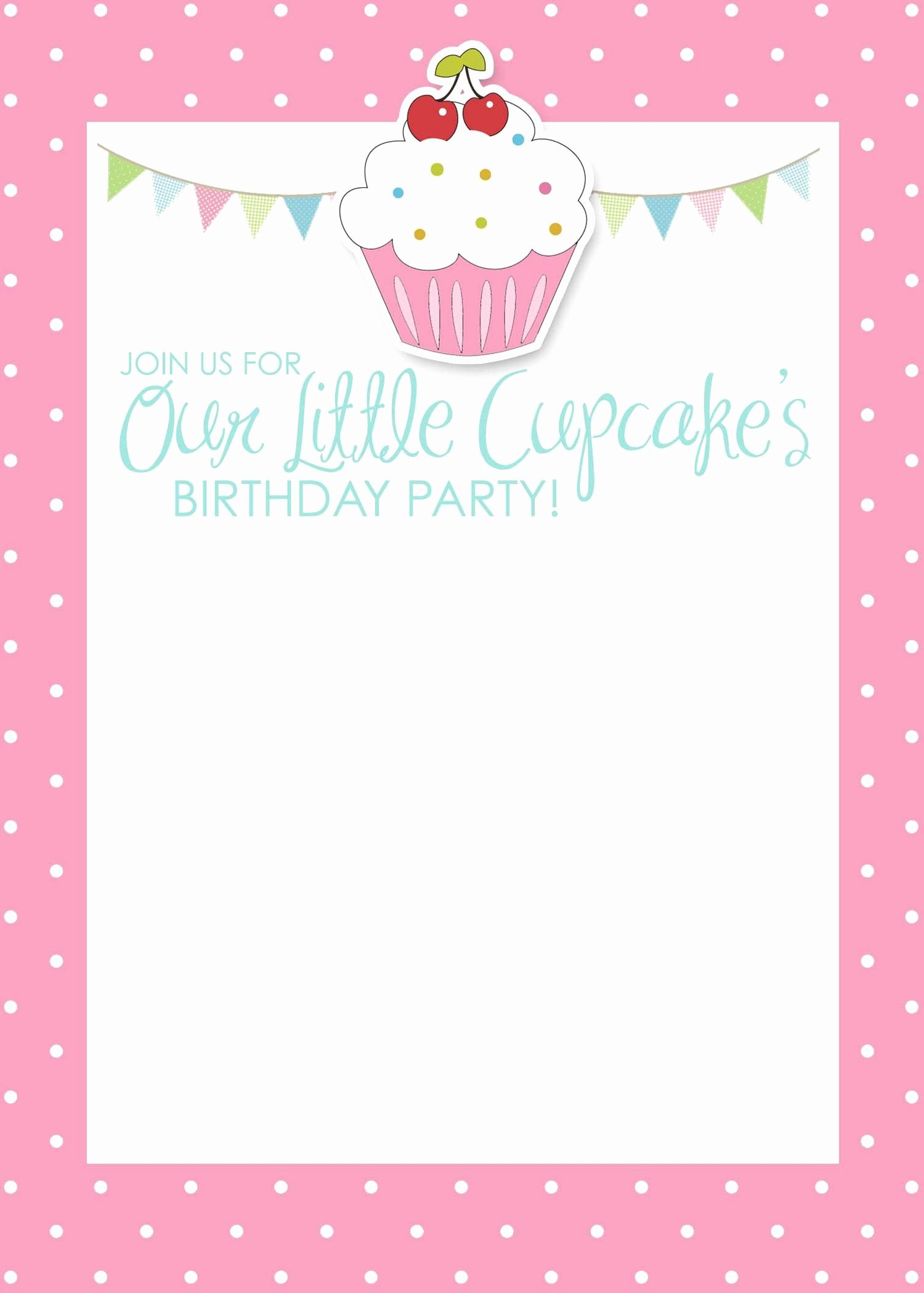 Birthday Card Template Free Fresh Birthday Invitation Card Template Free