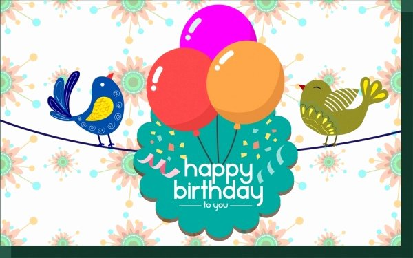 Birthday Card Template Free Inspirational Birthday Invitation Template Free Vector 15 150