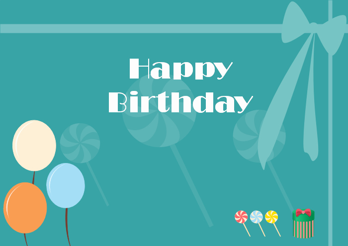 Birthday Card Template Free Luxury Free Editable and Printable Birthday Card Templates