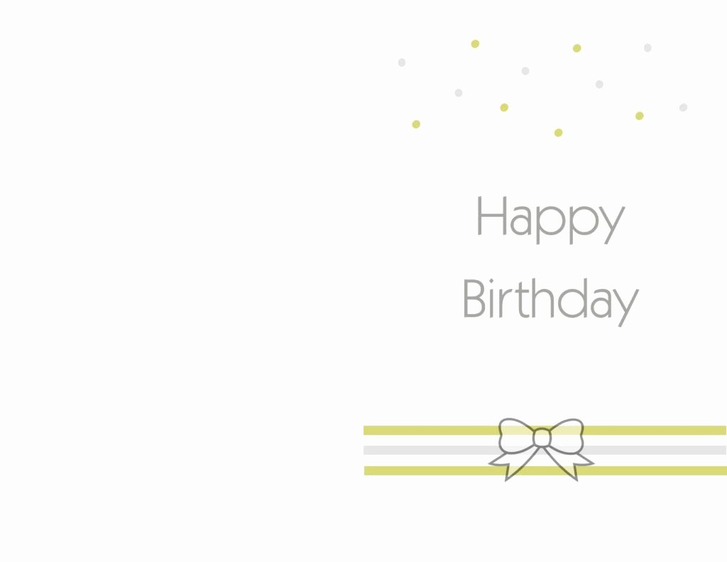 Birthday Card Template Free Luxury Free Printable Birthday Cards Ideas – Greeting Card