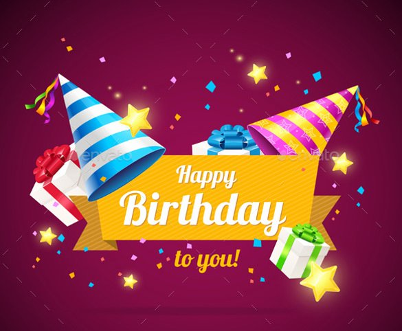 Birthday Card Template Free Unique 21 Birthday Card Templates – Free Sample Example format
