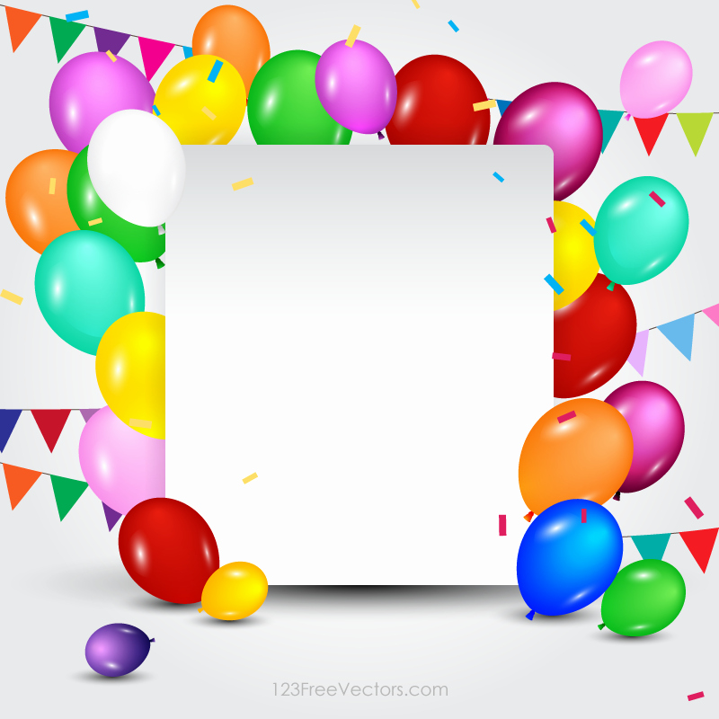 Birthday Card Template Free Unique Happy Birthday Card Template Free Vectors