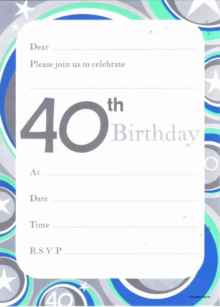 Birthday Invitation Templates Word Best Of 40 Birthday Invitation Template Free