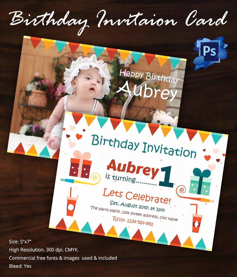 Birthday Invitation Templates Word Elegant Birthday Invitation Template 32 Free Word Pdf Psd Ai