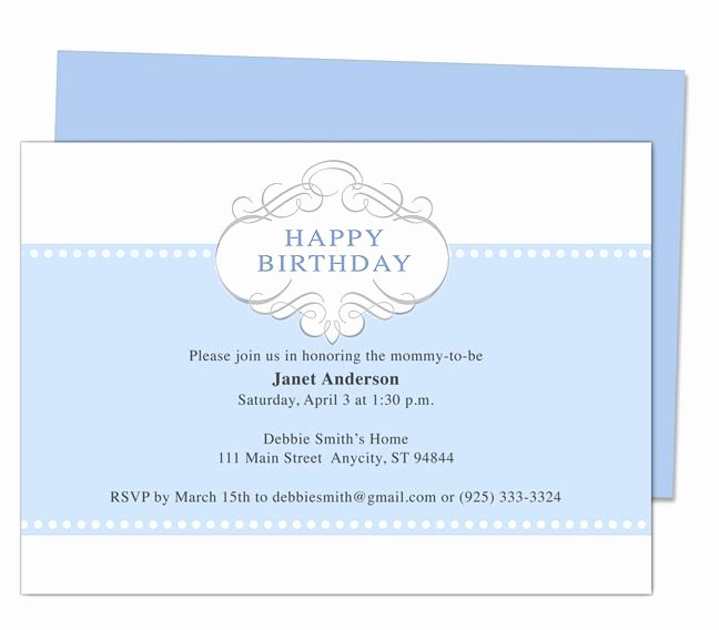 Birthday Invitation Templates Word Elegant Prince 1st Birthday Invitation Templates Edits with Word