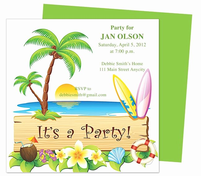 Birthday Invitation Templates Word Fresh General Birthday Native Birthday Invitation Templates