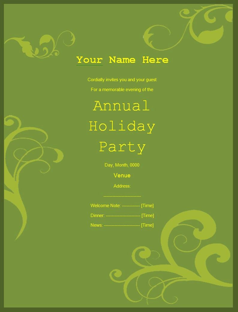 Birthday Invitation Templates Word Fresh Party Invitation Templates