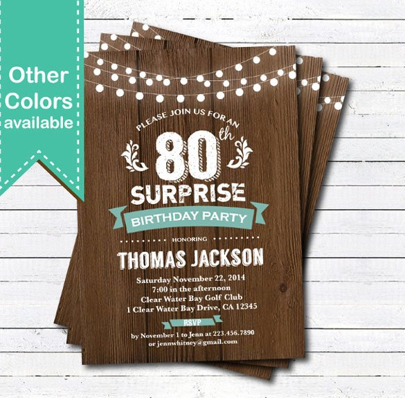Birthday Invitation Templates Word Lovely 49 Birthday Invitation Templates Psd Ai Word