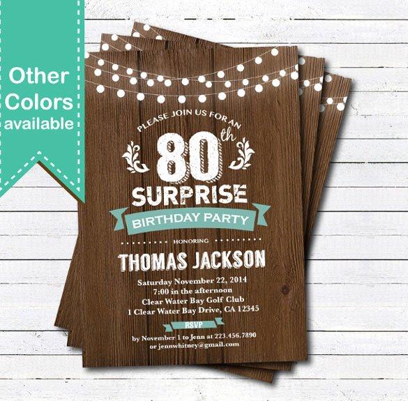 Birthday Invitation Templates Word Lovely 49 Birthday Invitation Templates Psd Ai Word