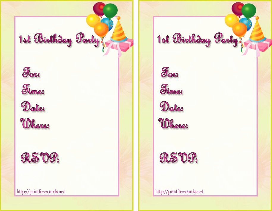 Birthday Invitation Templates Word Lovely Birthday Invitation Templates Birthday Invitation