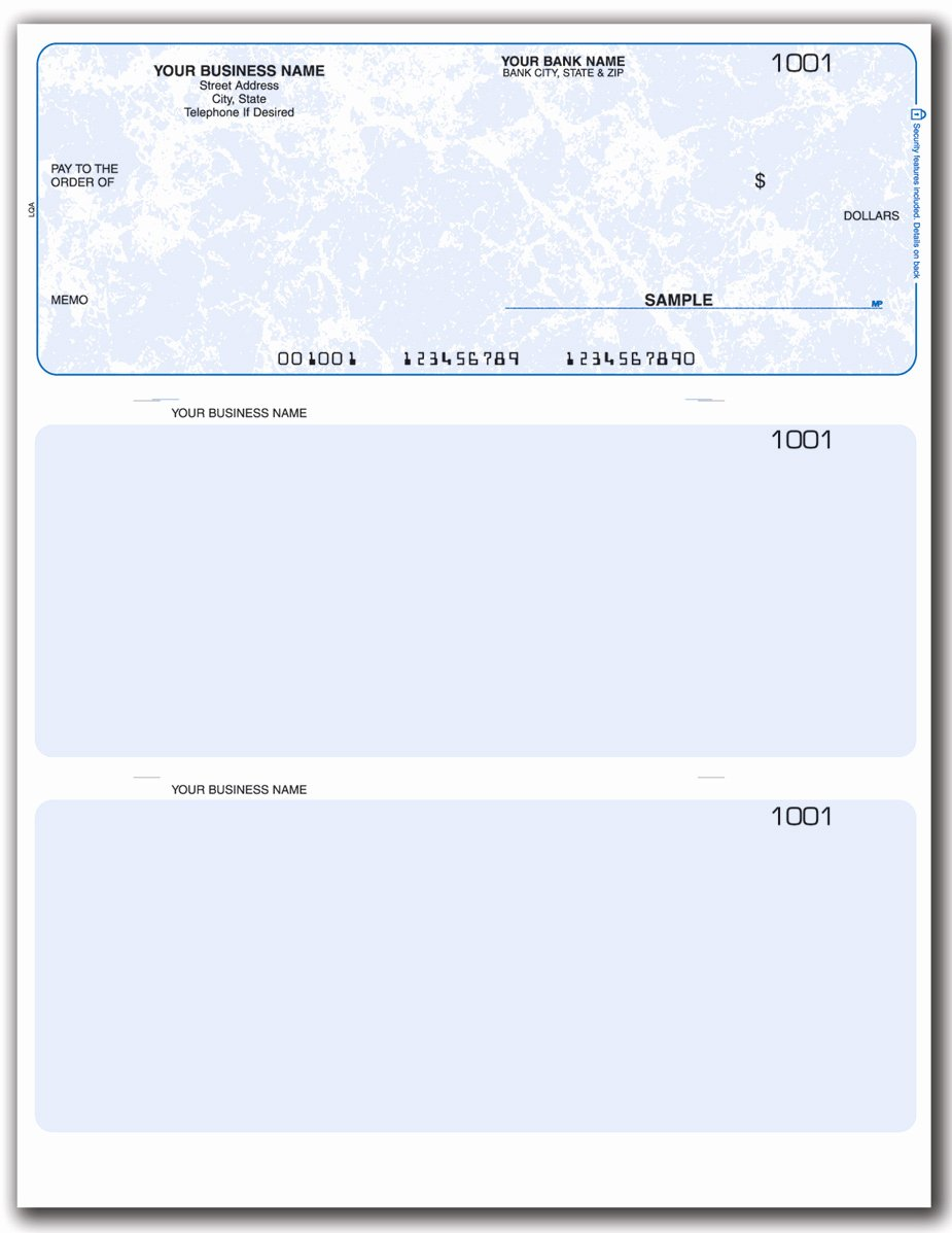 Blank Check Templates for Excel Luxury Business Check Template