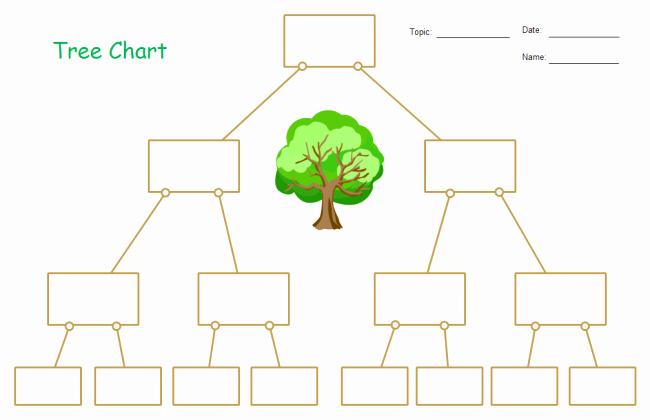Blank Family Tree Chart Inspirational Blank Tree Chart