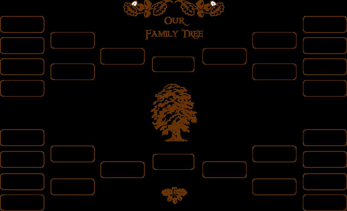 Blank Family Tree Chart Lovely Blank Family Tree
