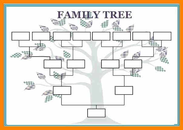 Blank Family Tree Chart Luxury Best 25 Family Tree Templates Ideas On Pinterest