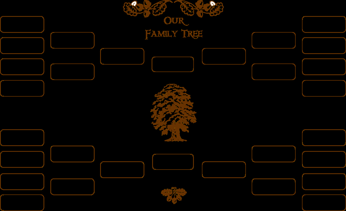 Blank Family Tree Template Lovely Blank Family Tree Template