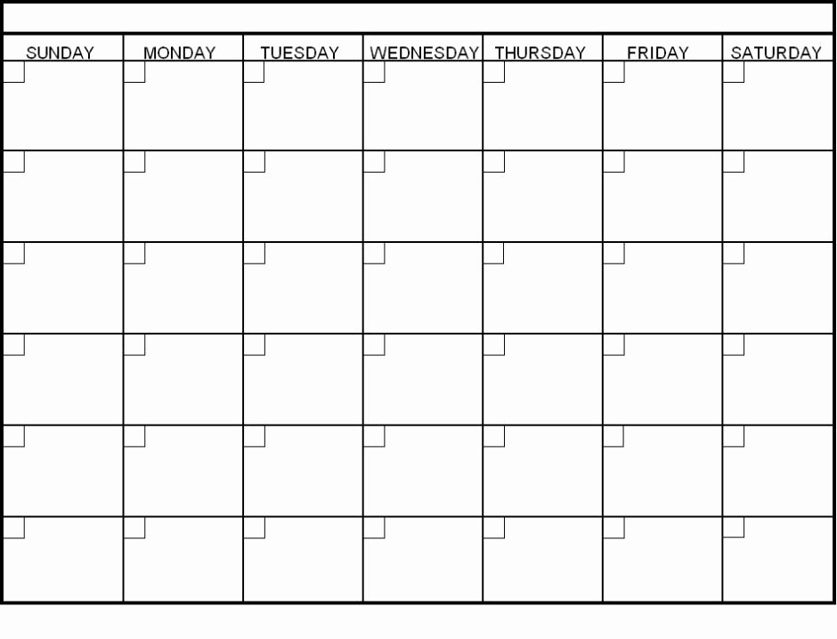 Blank Monthly Calendar Pdf Beautiful Blank Calendar 2018 Word Pdf Printable Templates