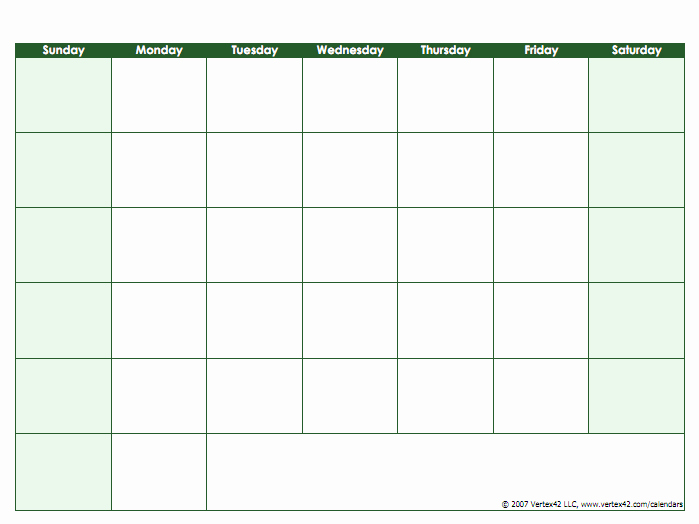 Blank Monthly Calendar Pdf Beautiful Blank Calendar Template Free Printable Blank Calendars