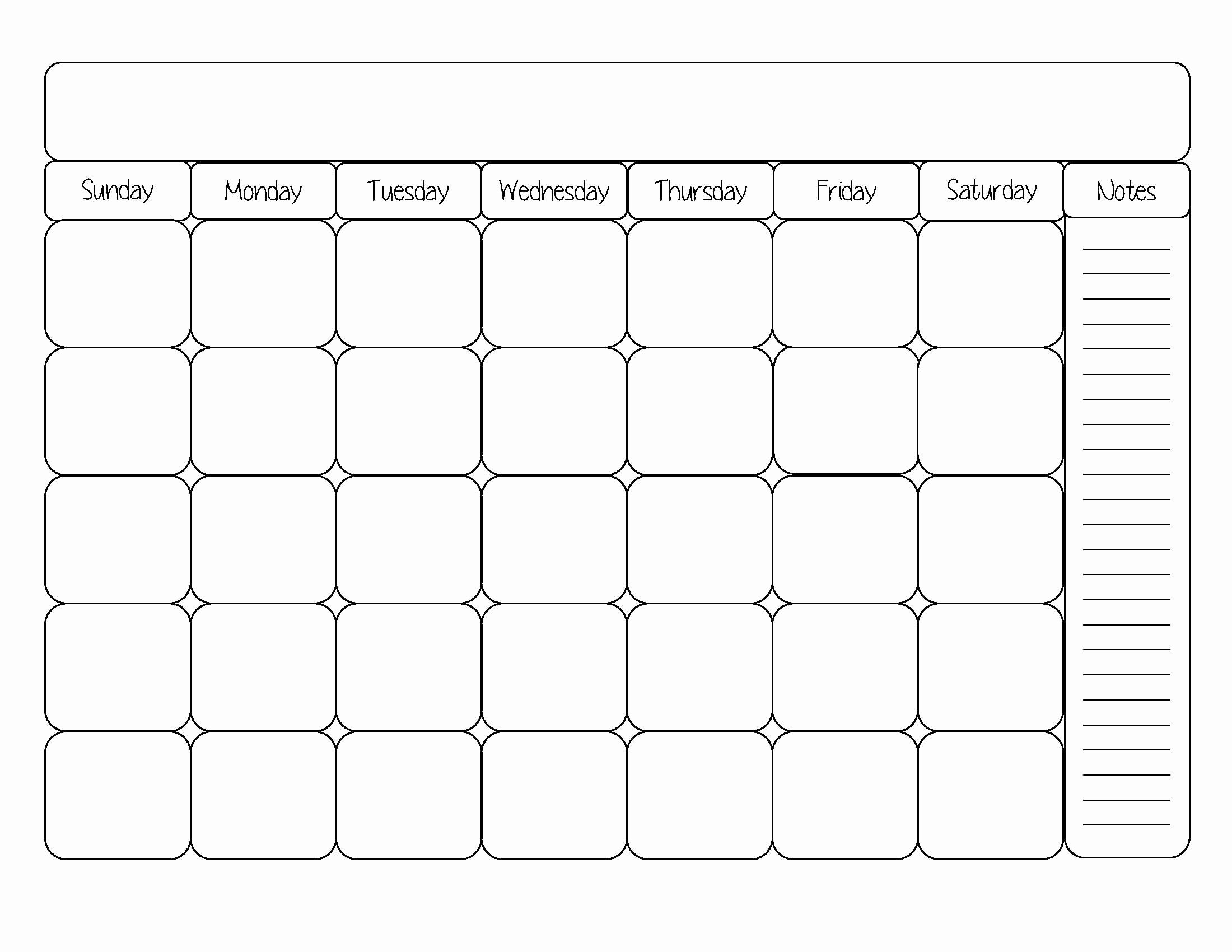 Blank Monthly Calendar Pdf Inspirational Take Blank Monthly Calendar Template Pdf ⋆ the Best