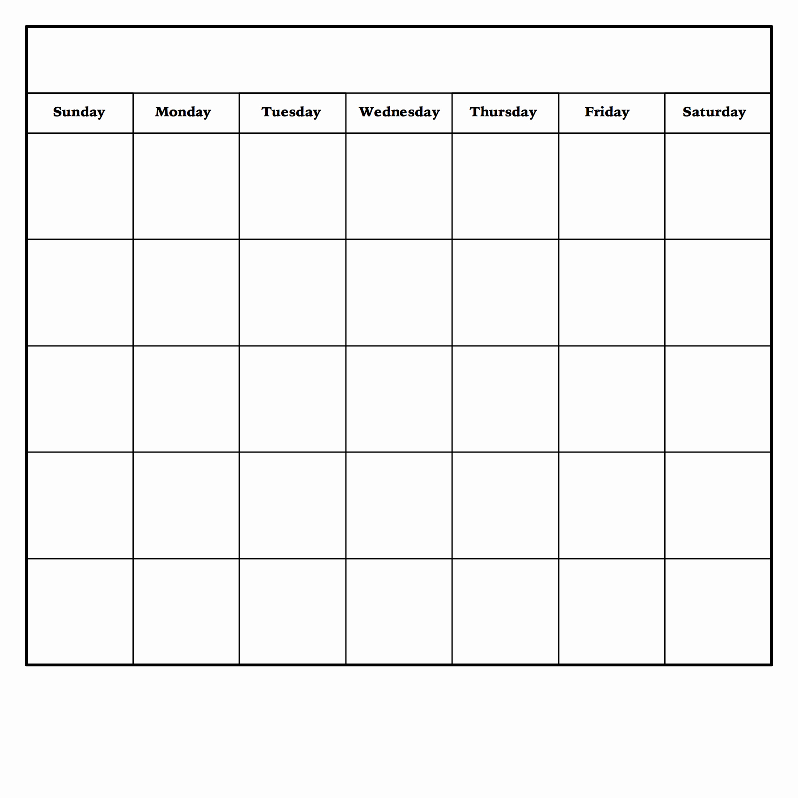 Blank Monthly Calendar Pdf New Diy Dry Erase Calendar