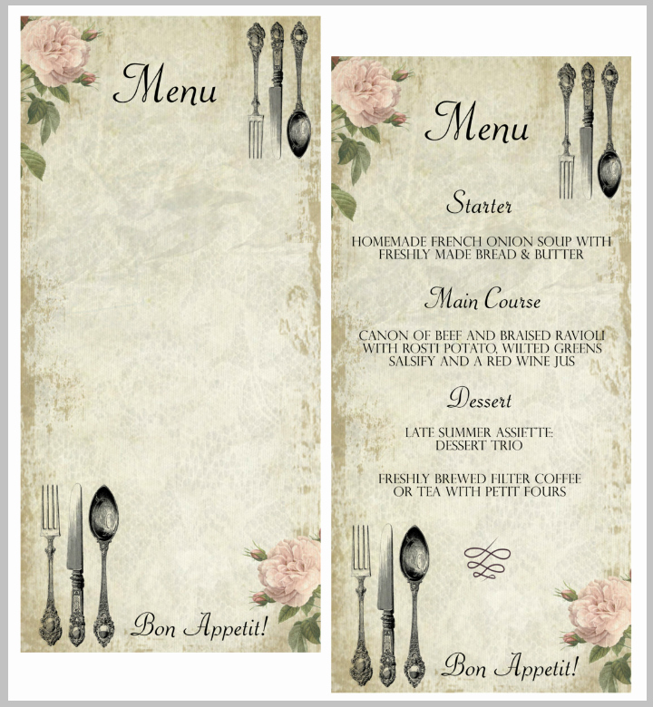 Blank Restaurant Menu Template Awesome 30 Blank Menu Templates Ai Psd Docs Pages