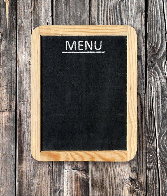 Blank Restaurant Menu Template Beautiful 33 Menu Board Templates – Free Sample Example format