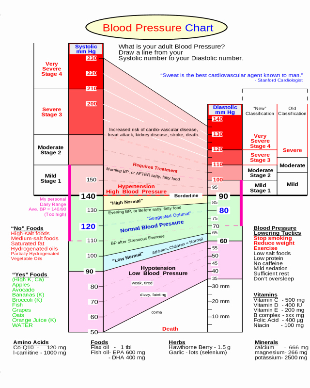 Blood Pressure Chart Pdf Beautiful 2019 Blood Pressure Chart Fillable Printable Pdf