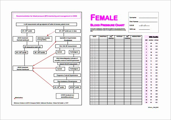 Blood Pressure Chart Pdf Inspirational Blood Pressure Chart Template 6 Free Excel Pdf