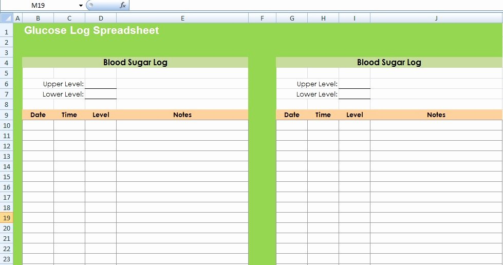 Blood Sugar Log Excel Beautiful Get Glucose Log Spreadsheet Template Excel Spreadsheet