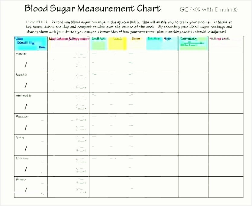 Blood Sugar Log Excel Luxury 7 Food Diary Template Excel Besttemplatess123