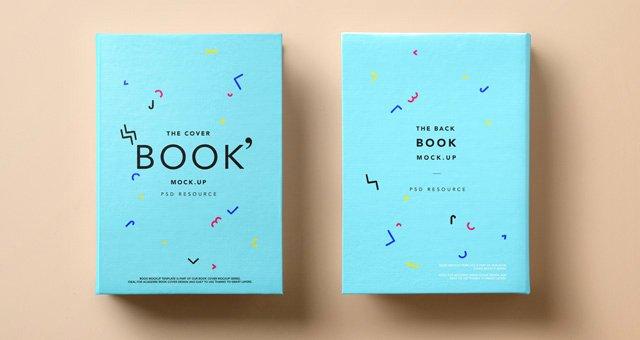 Book Cover Template Psd Elegant Psd Hardback Book Cover Mockup