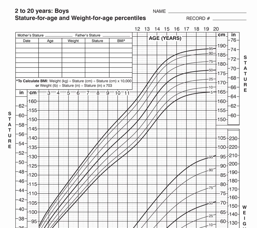 Boys Height Weight Chart Best Of Growth Charts – Seasons Medical