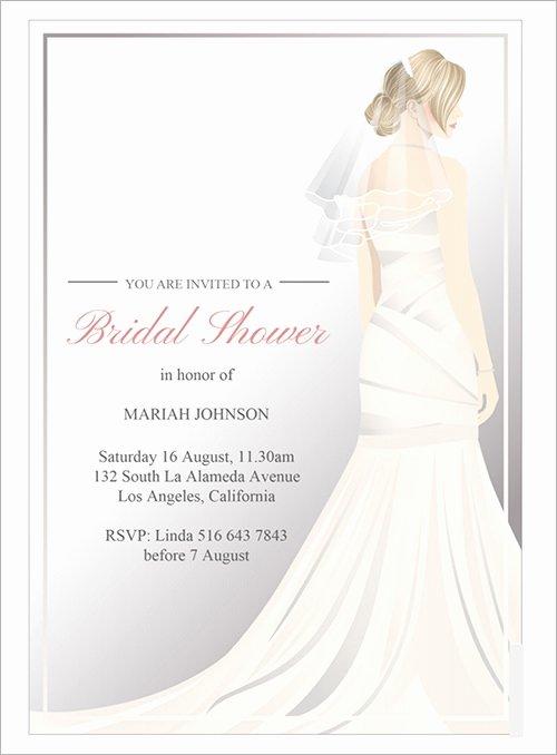 Bridal Shower Invite Template Beautiful 54 Invitation Templates Word Psd Ai