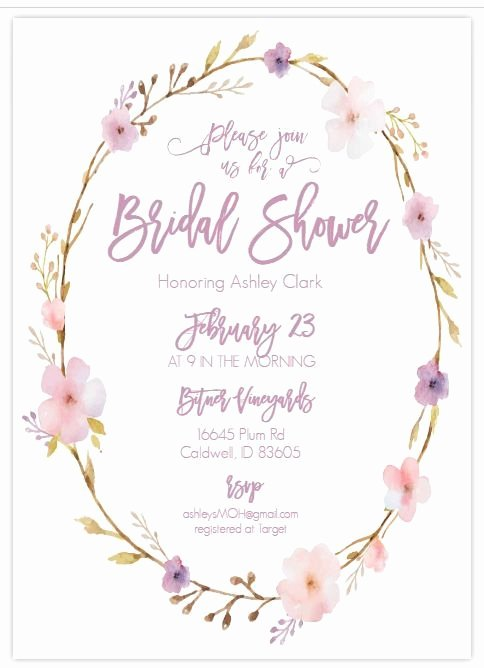 Bridal Shower Invite Template Best Of 13 Bridal Shower Templates that You Won T Believe are Free