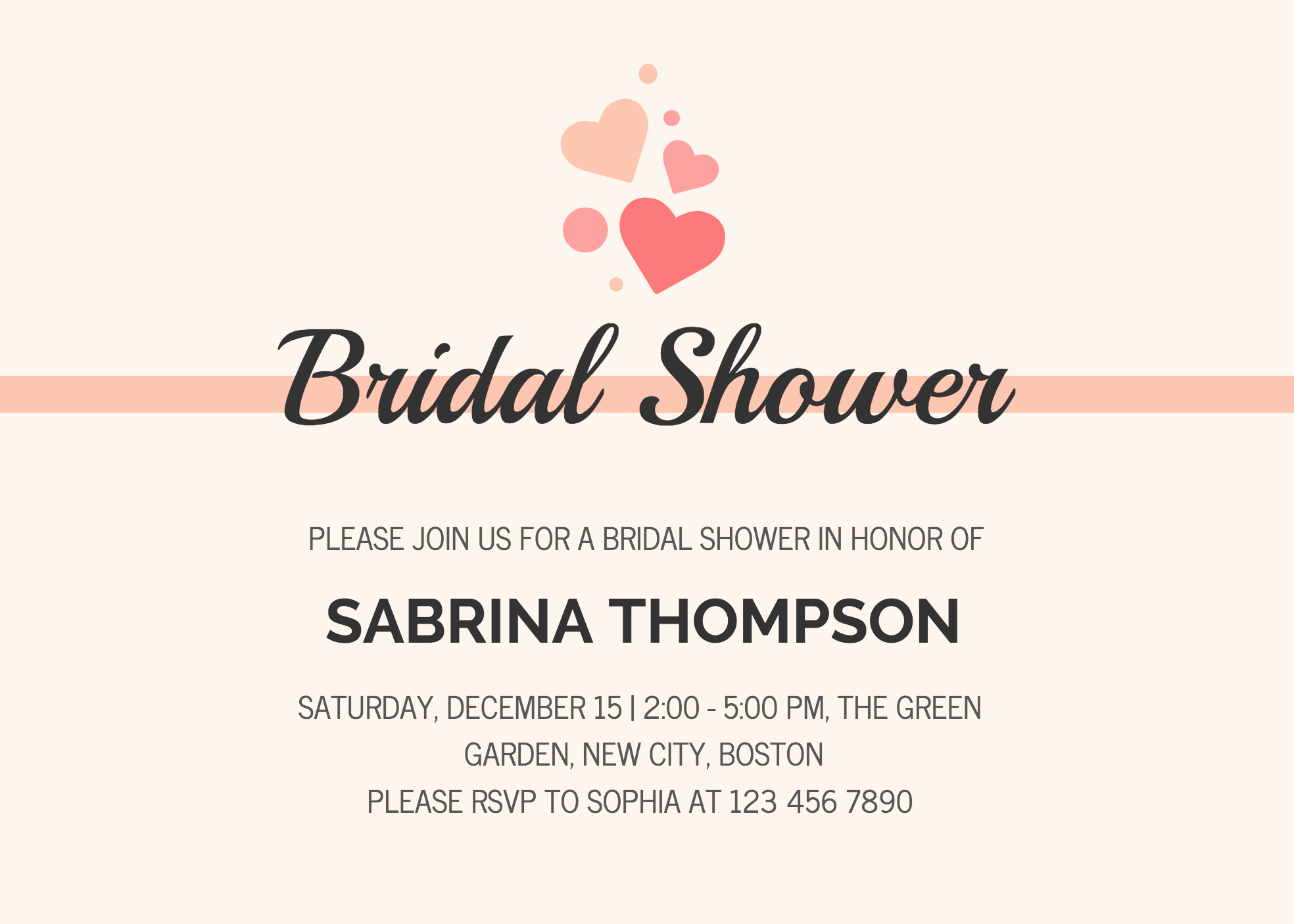 Bridal Shower Invite Template Fresh 19 Diy Bridal Shower and Wedding Invitation Templates
