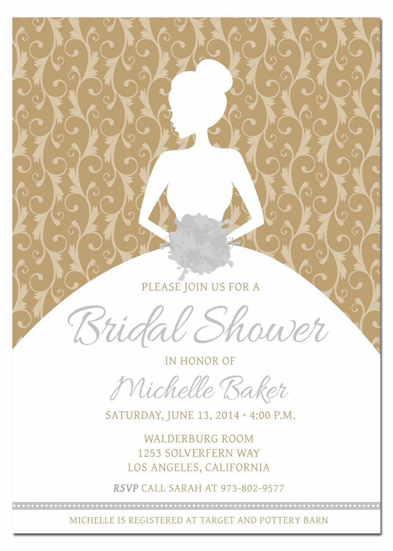 Bridal Shower Invite Template Fresh Diy Bridal Shower Invitations Diy Bridal Shower