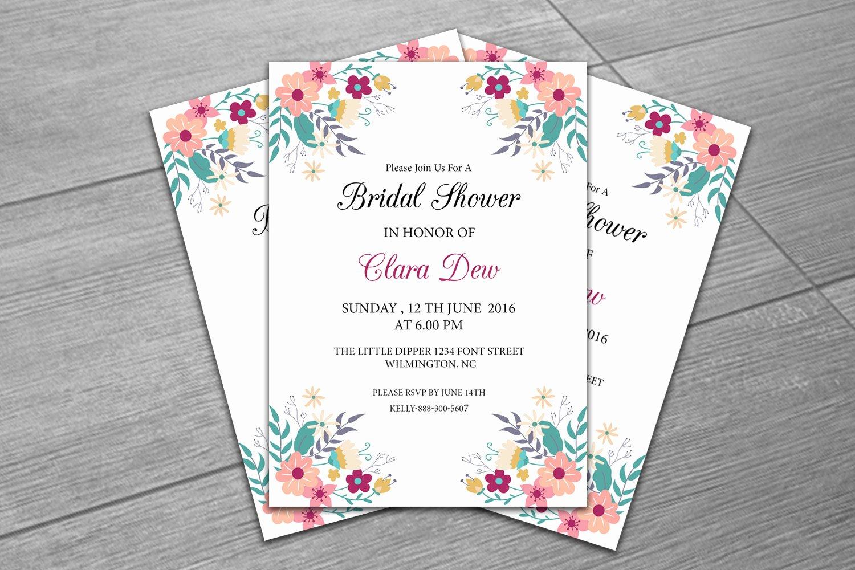 Bridal Shower Invite Template Fresh Sale Bridal Shower Invitation Template Diy Wedding Shower