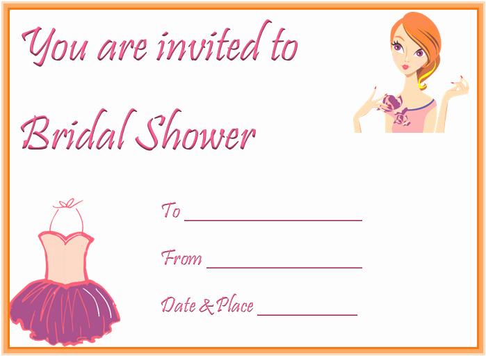 Bridal Shower Invite Template Lovely the Captivating Bridal Shower Invitation Templates