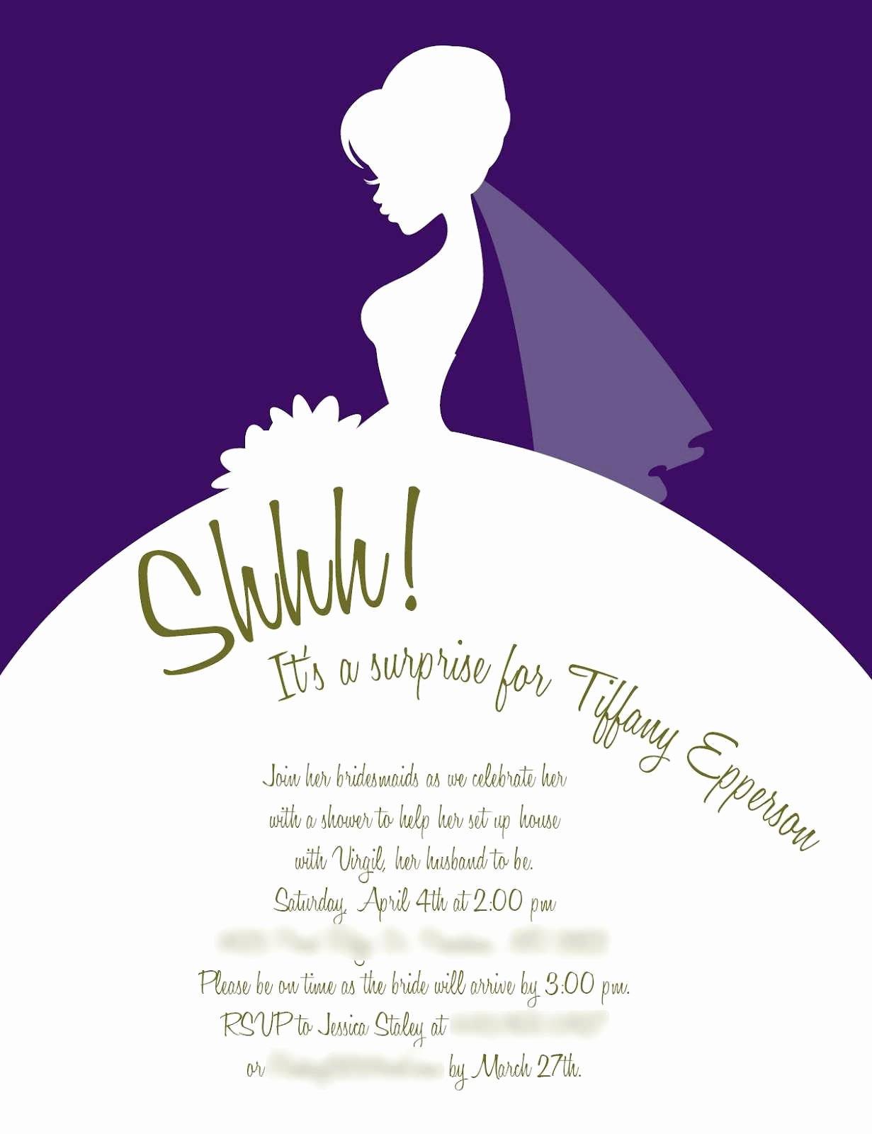 Bridal Shower Invite Template Luxury Bridal Shower Invite Template Chanel Bridal Shower