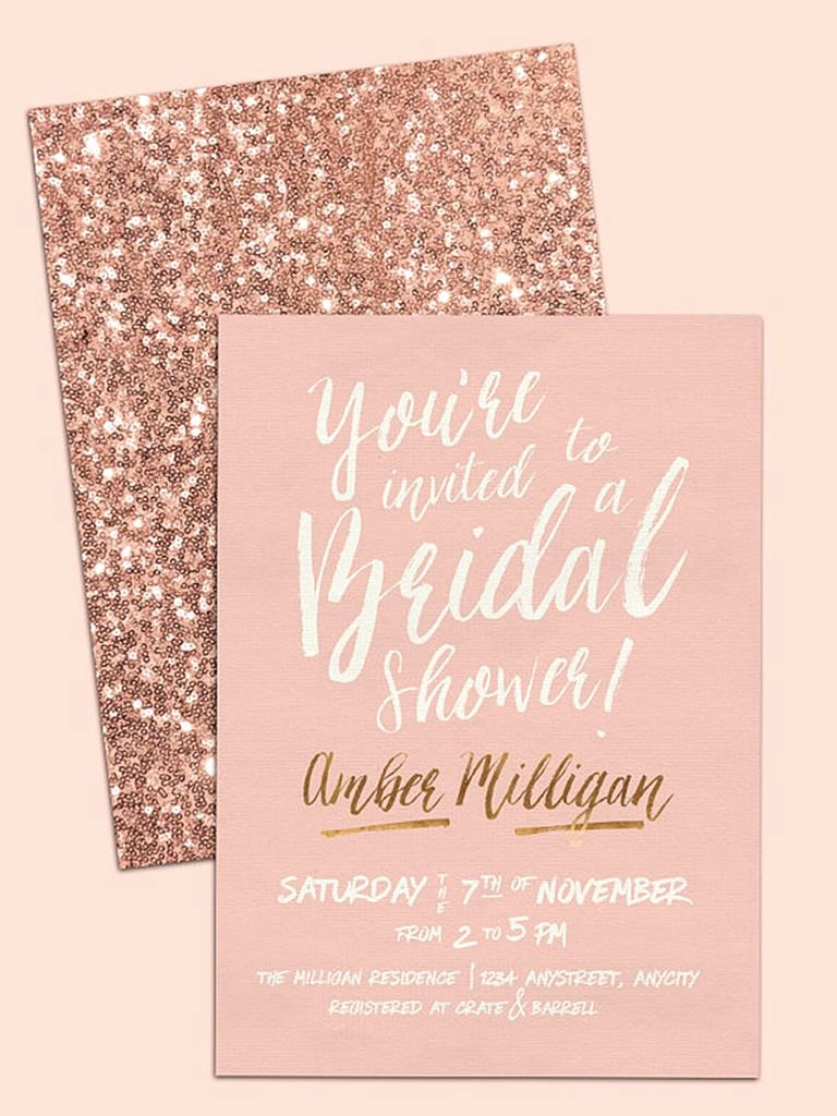 Bridal Shower Invite Template Unique Printable Bridal Shower Invitations You Can Diy