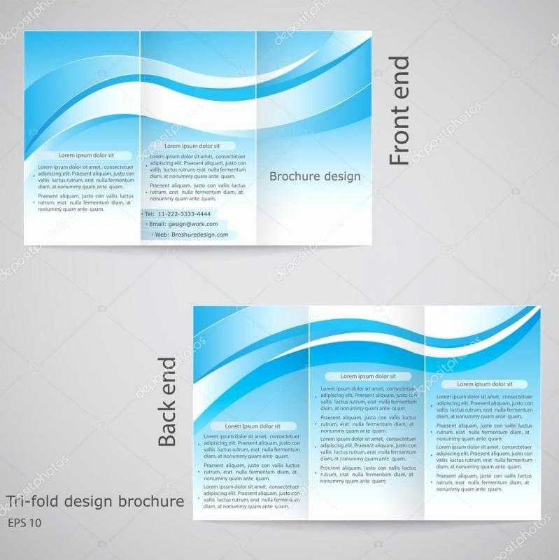 Brochure Templates for Google Docs Elegant Google Docs Tri Fold Brochure Template