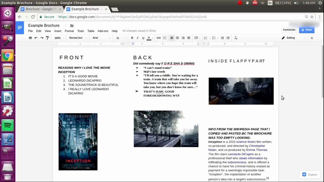 Brochure Templates for Google Docs Elegant How to Make A Brochure On Google Docs