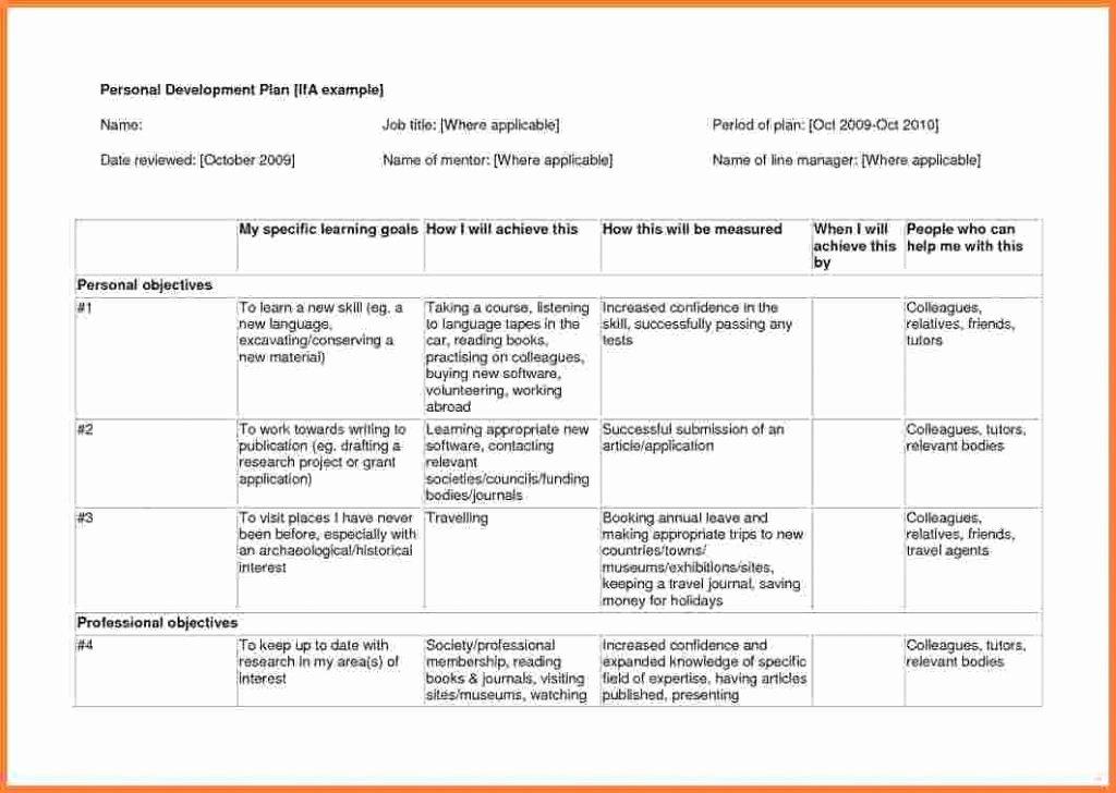 Business Development Plan Template Elegant Business Development Plan Template Sample – Individual