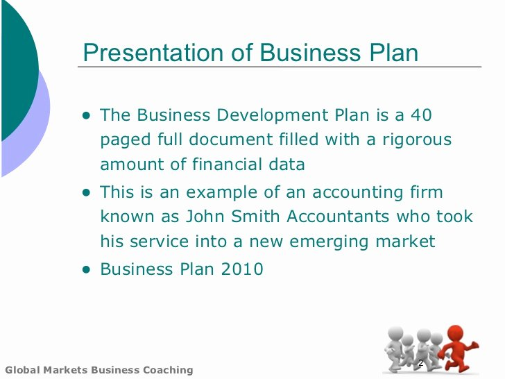 Business Development Plan Template Elegant Global Markets Business Plan Template
