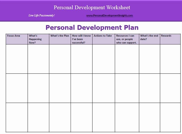 Business Development Plan Template Fresh Personal Development In organisations