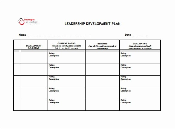 Business Development Plan Template Lovely 18 Development Plan Templates Free Word Pdf format