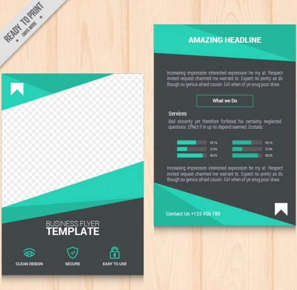 Business Flyer Templates Free Awesome 41 Free Flyer Templates Psd Eps Vector format Download