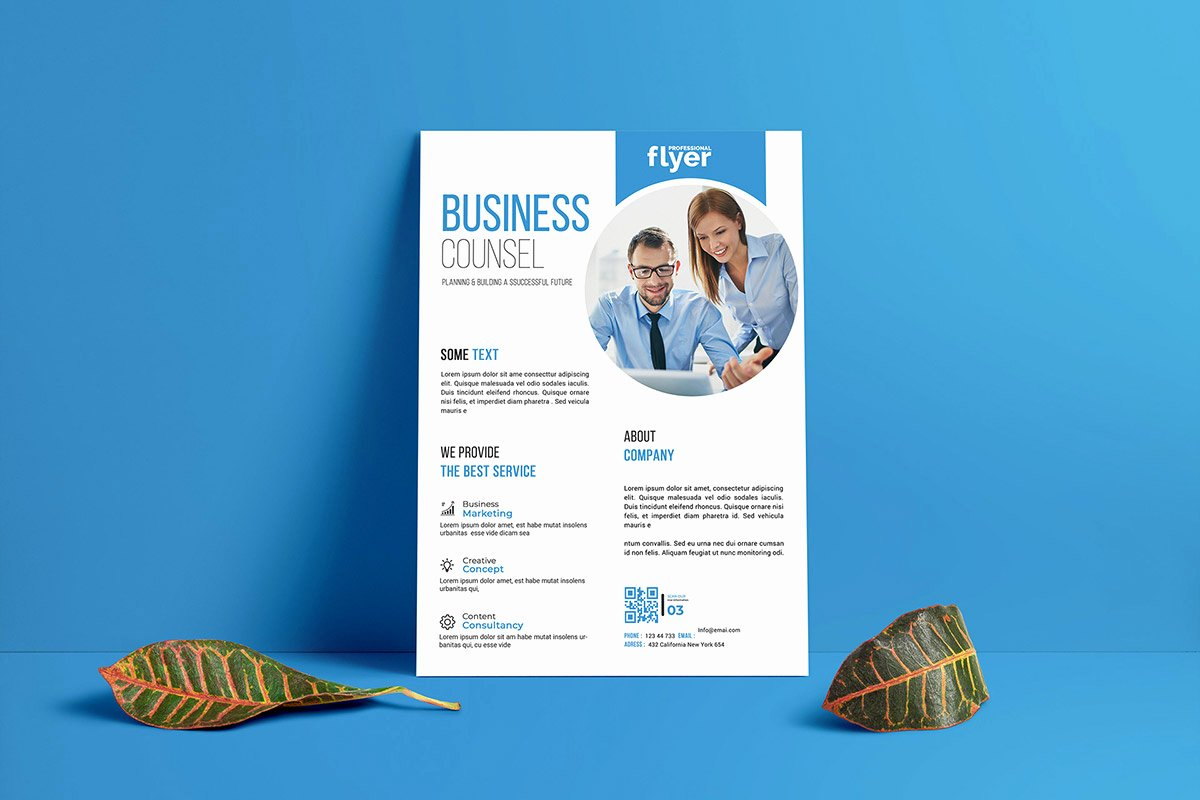 Business Flyer Templates Free Awesome Free Corporate Business Flyer Template Creativetacos