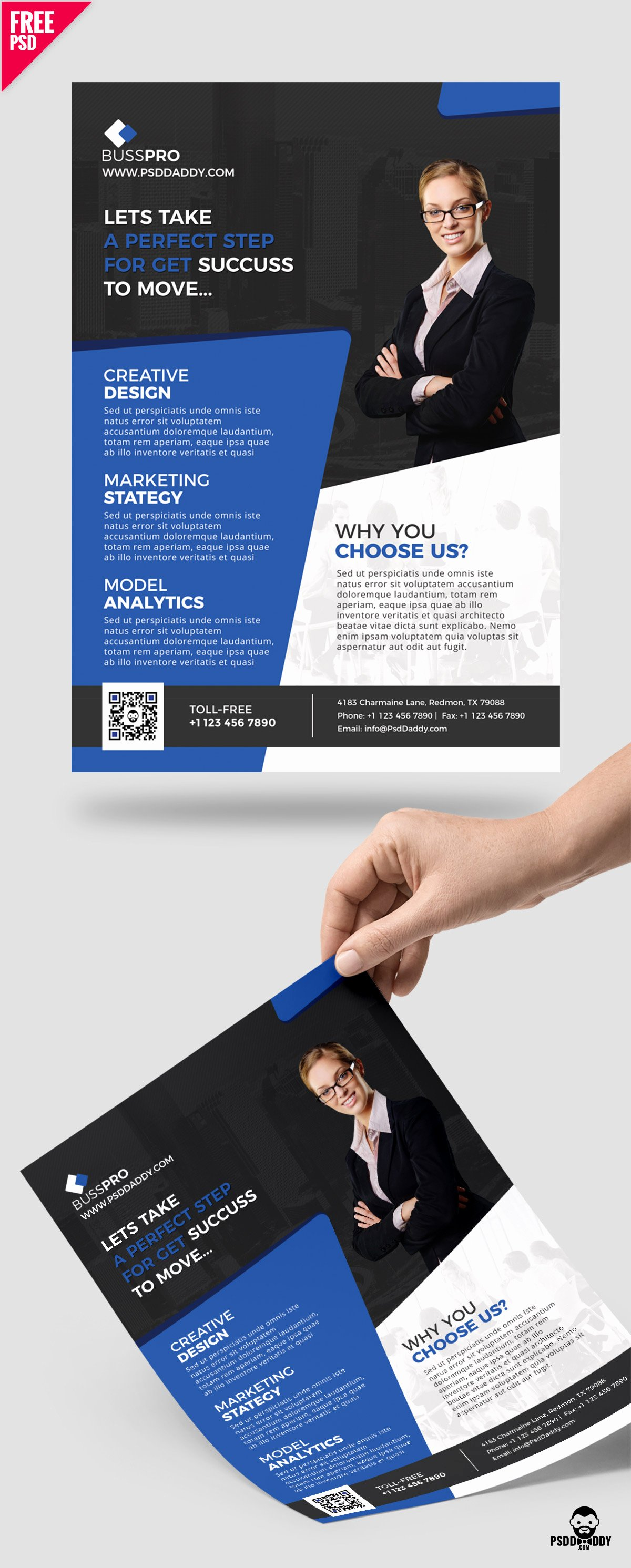 Business Flyer Templates Free Luxury [download] Business Flyer Template Free Psd