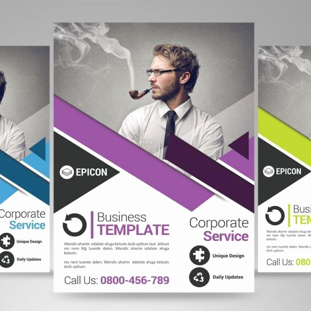 Business Flyer Templates Free New Free Business Flyer Templates Download – Blue Corporate